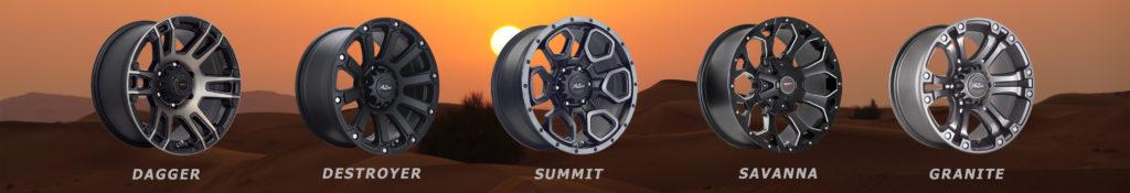Dagger Destroyer Summit Savanna Granite