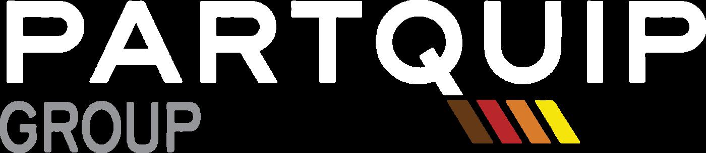 Partquip Group Logo - White